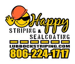 Happy Striping, Seal Coating, and SandBlasting